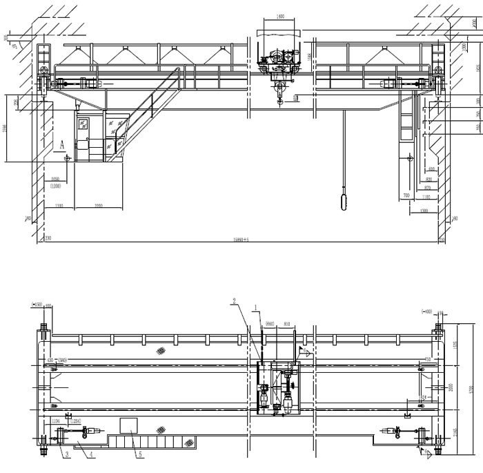 Overhead Crane Drawing Products Amp Suppliers Overhead