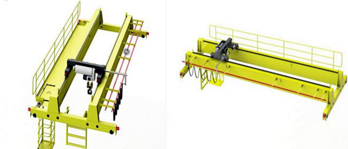 Dongqi Lh Model 20 Tons Electric Hoist Trolley Overhead
