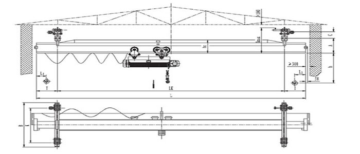 Overhead Crane Autocad Drawing : Overhead crane parts diagram pixshark images
