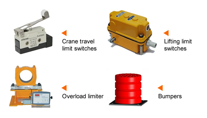 Overhead Crane Safety Points : Overhead crane parts