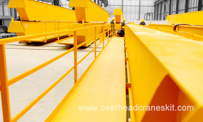 Overhead Crane Girder Deflection : Dhd series heavy duty double girder overhead crane for
