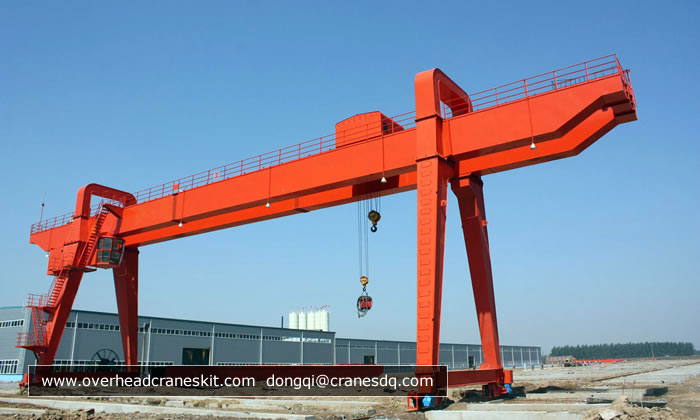 Overhead Cranes Pakistan : A type double girder gantry crane