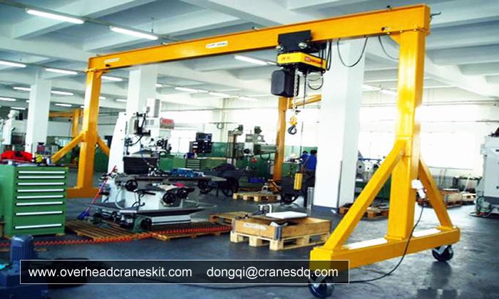 A Frame Crane Singapore For Sale Overhead Gantry Crane